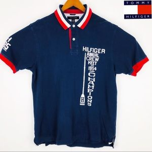 Mens Tommy Hilfiger Crew XL short sleeve polo